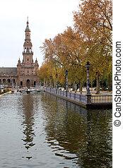 famoso, plaza de espana