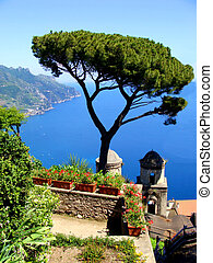 Amalfi Coast view - Famous Amalfi Coast view from the...