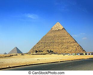 egypt pyramids in Giza Cairo