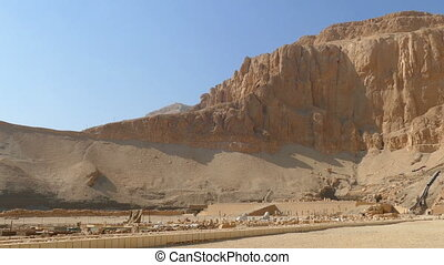 Famous ancient temple of Hatshepsut in Luxor Egypt