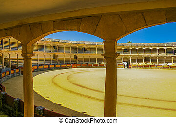 Famous arena in Ronda