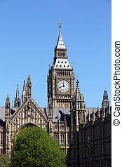 famous Big Ben in London, UK