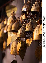Famous Big Buddha wish bells, Phuket, Thailand outdoors