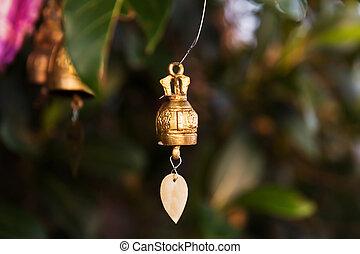 Famous Big Buddha wish bells, Thailand - Famous Big Buddha...