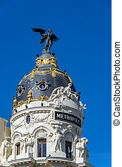 Famous Building in Madrid