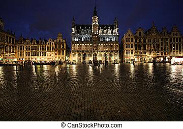 Brussels - Famous building: Maison du Roi (The King's House...