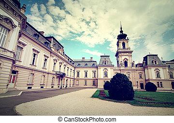 Famous castle in Keszthely - Famous castle in Keszthely,...