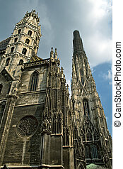 Stephansdom - Famous cathedral in Vienna - Stephansdom