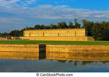 Famous Chateau de Chantilly. France