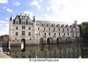 Chateau de Chenonceau castle, Loire Valley, France