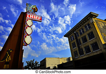 Famous Chief Theater in Pocatello Idaho - Famous old Chief...