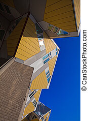 Cubic houses in Rotterdam - famous Cubic houses in Rotterdam...