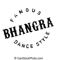Famous dance style, Bhangra stamp