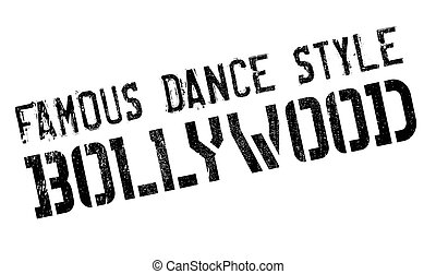 Famous dance style, bollywood stamp