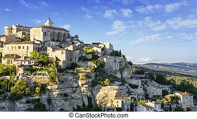Famous Gordes medieval village in Southern France