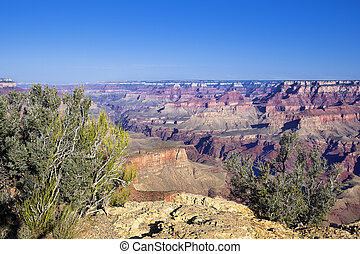 Famous Grand Canyon view