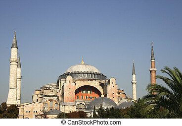 Famous Hagia Sofia in Istanbul