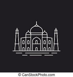 Famous Indian landmark.