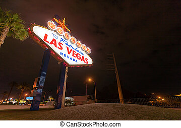 Famous Las Vegas sign