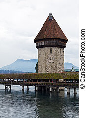 Famous Luzern Chapel bridge