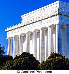 Lincoln Memorial Closeup, Washington DC