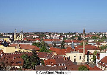 famous minaret landmark Eger Hungary
