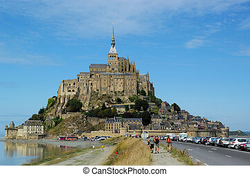 Mont Saint Michel - Famous Mont Saint Michel France