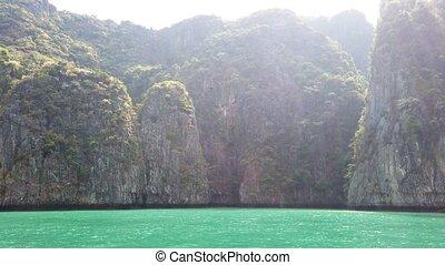 Famous Phi Phi island - Panorama of Phi Phi famous island in...