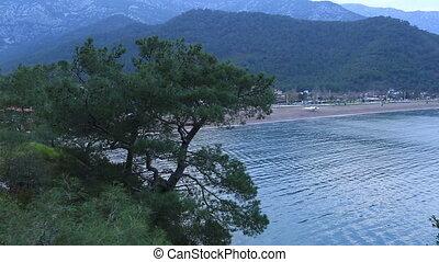 famous place Adrasan bay and beach at Kumluca Antalya Turkey