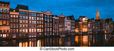 Famous place in Amsterdam, Holland