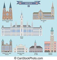 Famous Places in Austria