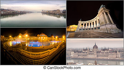 Famous Places in Budapest, Hungary