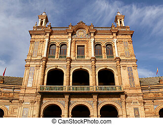 Famous Plaza de Espana
