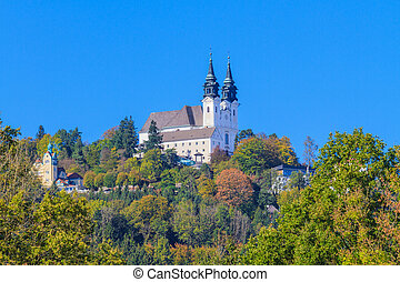 Poestlingberg Basilica, Linz, Austria - Famous Poestlingberg...