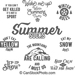 Famous quotes about winter sports