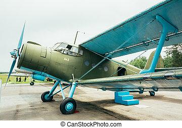 Famous soviet plane paradropper Antonov An-2 Heritage of Flying