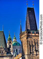 St.Nicholas church in Prague
