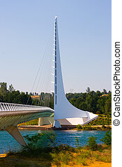 Sundial Bridge - Famous Sundial Bridge in Redding California