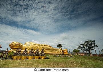 temple - Famous temple in  Thailand, ko yore songkla.