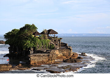 Famous temple Pura Tanah Lot at Bali