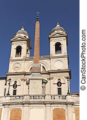 Trinita dei Monti - famous Trinita dei Monti, Renaissance...