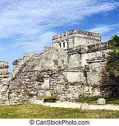 famous Tulum ruins
