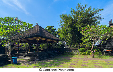 Famouse old temple on island Bali