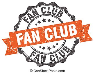 fan club stamp. sign. seal