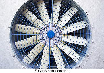 fan  - The old big industrial fan