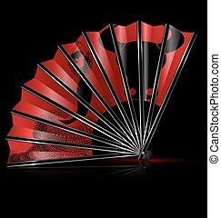 fan flamenco dance