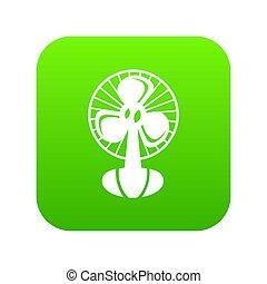 Fan icon green