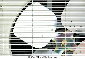 Fan of air condition