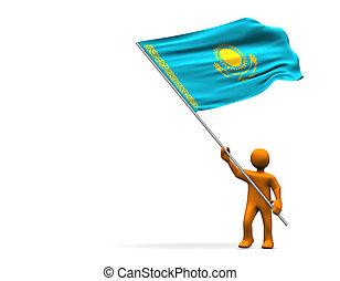 Fan of Kazakhstan