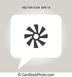 fan vector icon